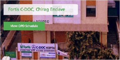 Fortis C-Doc, Chirag Enclave