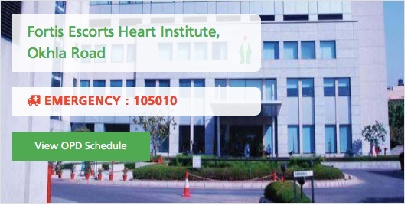 Fortis Escorts Heart Institute, Okhla Road