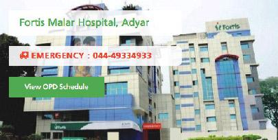 Fortis Malar Hospital, Adyar