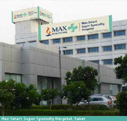 Max Smart Super Specialty Hospital, Saket