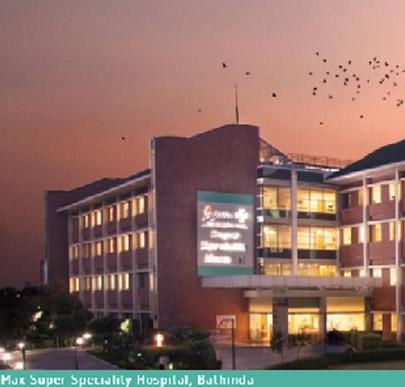 Max Super Specialty Hospital, Bathinda