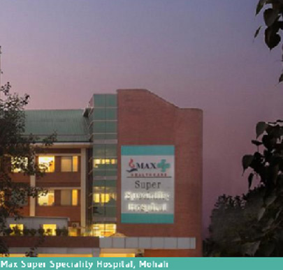 Max Super Specialty Hospital, Mohali